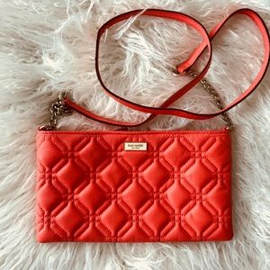 Kate Spade crossbody red bad